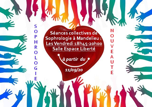 Séances collectives de Sophrologie à Mandelieu